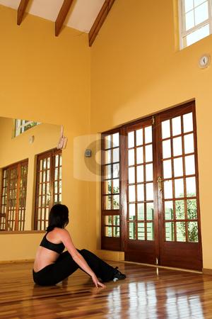 Dancer #13 stock photo, A Female Dancer practicing in her studio by Sean Nel