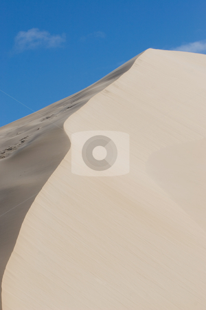 Dunes #9 stock photo, Sand Dunes and Blue Sky by Sean Nel