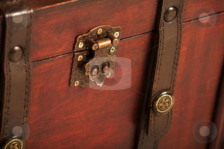 Suitcase#006 stock photo, Open treasure case on white background by Sean Nel