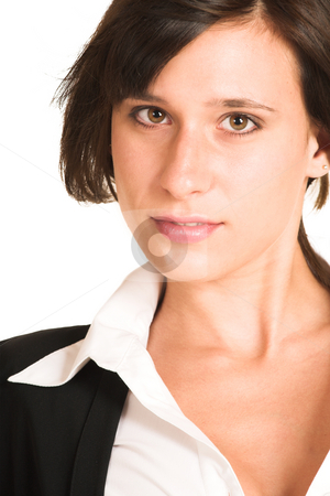 Business Woman #277 stock photo, Business woman dressed in a pencil skirt and jacket. by Sean Nel