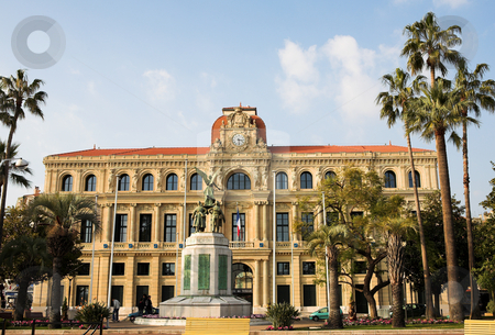 Cannes #37 stock photo, The Hotel de Ville in Cannes, France by Sean Nel