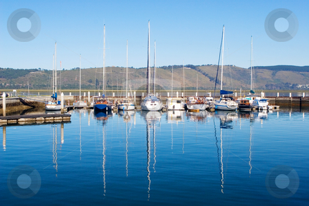 Harbour #9 stock photo, Boats at Knysna Harbour, South Africa by Sean Nel
