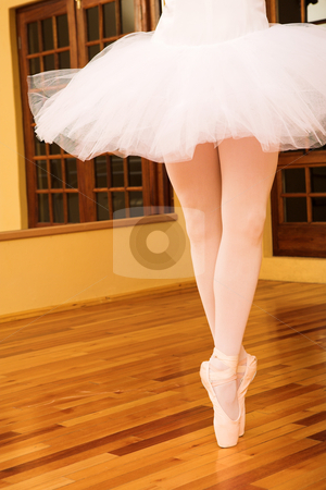 Ballerina #13 stock photo, Lady doing ballet in a dance studio by Sean Nel