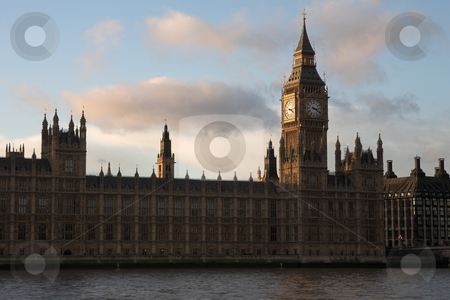 Westminster #10 stock photo, The buildings of the House of Parliament and Big Ben by Sean Nel