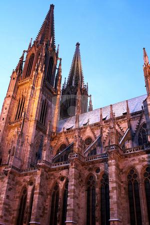 Regensburg#36 stock photo, Cathedral in Regensburg by Sean Nel