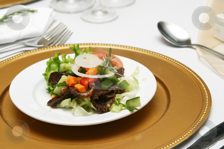 Luxurious starter stock photo, Luxury starter to a 5 course meal by Sean Nel