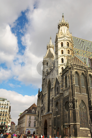 Vienna #48 stock photo, St Stephens DOM, Vienna, Austria by Sean Nel