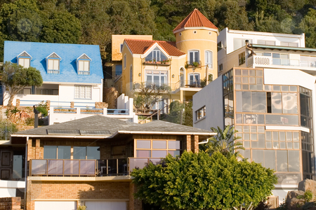 House #1 stock photo, Holiday homes - Gordons bay, South Africa by Sean Nel