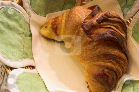 Pastry #48 stock photo, Croissant in a French Patisserie - Focus on Croissant by Sean Nel
