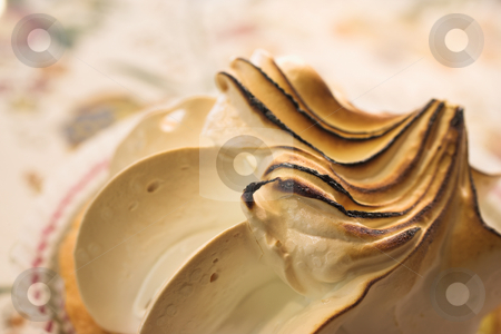 Pastry #20 stock photo, White Meringue on a table - Shallow Depth-of-Field by Sean Nel