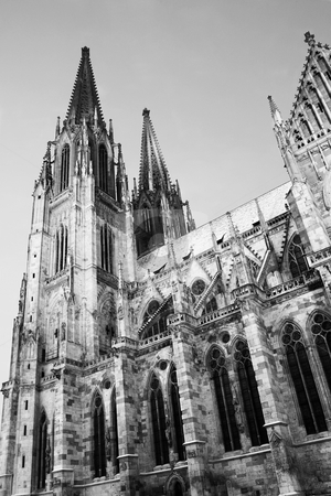 Regensburg#39 stock photo, Cathedral in Regensburg by Sean Nel