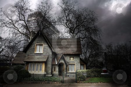 Haunted House #1 stock photo, Haunted house in London by Sean Nel