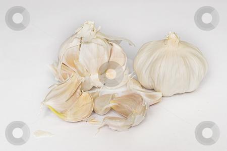 Garlic #2 stock photo, Whole Garlic Cloves by Sean Nel