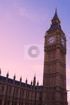 Big Ben #5 stock photo, Big Ben in the late afternoon - just before sunset by Sean Nel