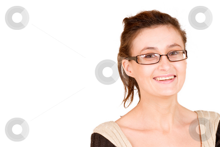Business Lady #95 stock photo, Business woman with glasses by Sean Nel