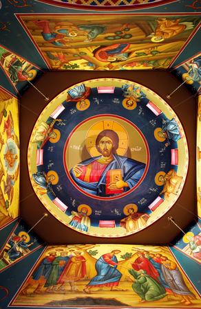 Orthodox Church stock photo, The ceiling of a Greek Orthodox Church  by Sean Nel