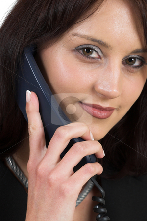 Business Lady #54 stock photo, Business woman on the telephone by Sean Nel