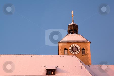 Regensburg#52 stock photo, Building top in Regensburg by Sean Nel