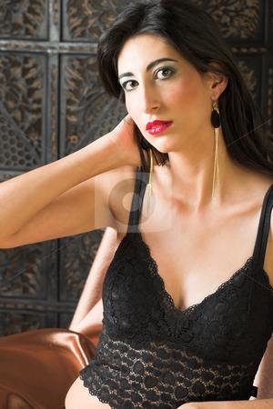 Sexy Woman In Italian