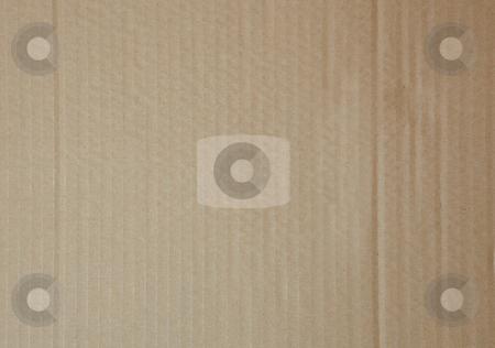 Flat cardboard background stock photo, Light brown flat cardboard background by Sean Nel