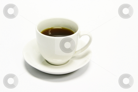 Espresso stock photo, White espresso coffee by Sean Nel
