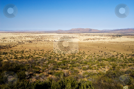 Travel #7 stock photo, Landscape of a dry area in South Africa by Sean Nel