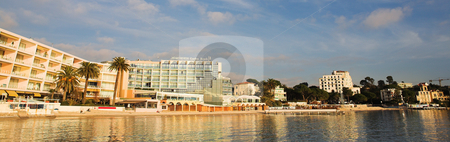 Juan Les Pins #17 stock photo, Private harbor in Juan Les Pins, France - panorama by Sean Nel