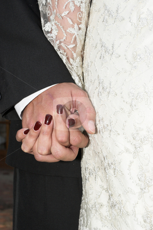 Couple #3 stock photo, Couple holding hands by Sean Nel