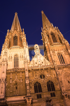 Regensburg#40 stock photo, Cathedral in Regensburg by Sean Nel