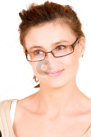 Business Lady #99 stock photo, Business woman with glasses by Sean Nel