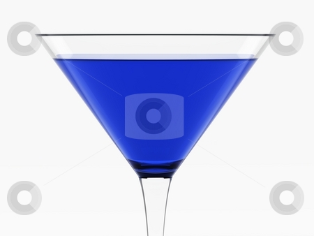 Dark Blue Cocktail stock photo, Dark Blue Cocktail by Oliver Klimek