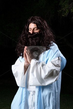 Disciple in prayer stock photo, Disciple in prayer by Leah-Anne Thompson