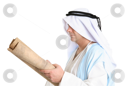Reading the torah scroll stock photo, Reading the torah scroll by Leah-Anne Thompson