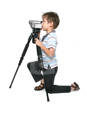 Keep it steady with a tripod stock photo, Using a tripod will give you a nice steady video capture. by Leah-Anne Thompson