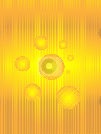 Lines and sphere stock photo, Abstract background from a lines and sphere golden color by Alina Starchenko