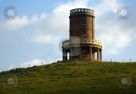 Clavell Tower stock photo, Clavell folly on the isle of purbeck, Kimmeridge dorset by Robert Ford