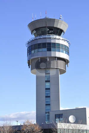 Airport Control Tower stock photo, Air Traffic Control tower. by Fernando Barozza