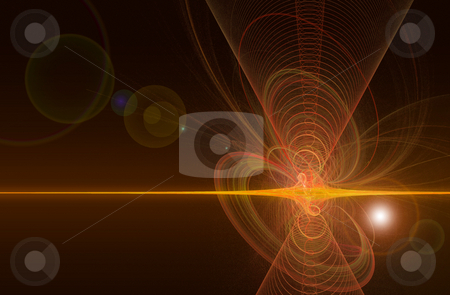 Abstract light background stock photo, Abstract light background with spirals from smoke by Jan Turcan