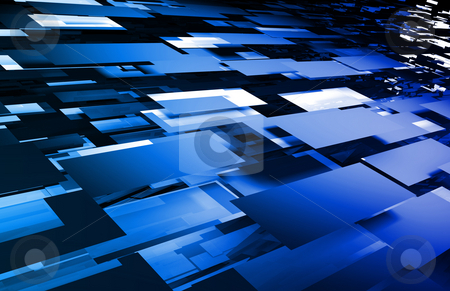 Futuristic Abstract Background stock photo, Tech Futuristic Abstract Background as a Art by Kheng Ho Toh