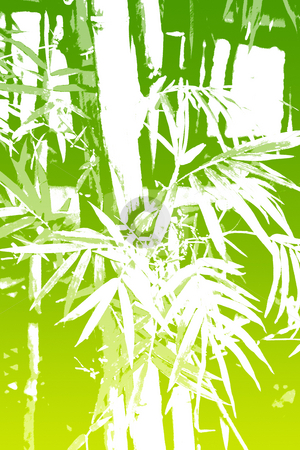 Bamboo Asian Abstract Background Wallpaper stock photo, Bamboo Asian Abstract Background Wallpaper in Illustration Form by Kheng Ho Toh