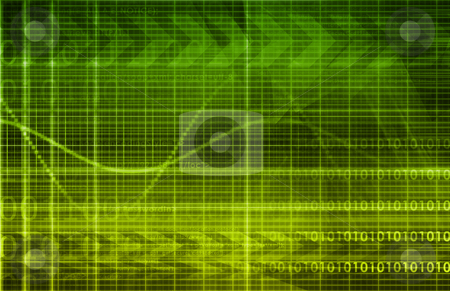 Technology Abstract stock photo, Technology Abstract with Futuristic Lines as Art by Kheng Ho Toh