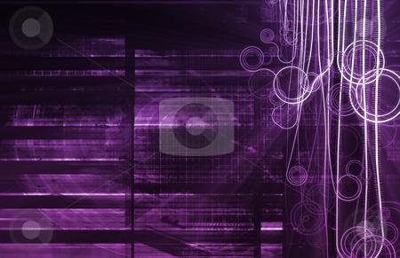 Purple Nanotechnology stock photo, Purple Nanotechnology as a Medical Science Concept by Kheng Ho Toh
