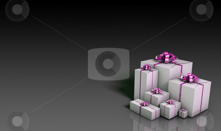 Business Gifts stock photo, Business or Corporate Gifts Background in 3d by Kheng Ho Toh