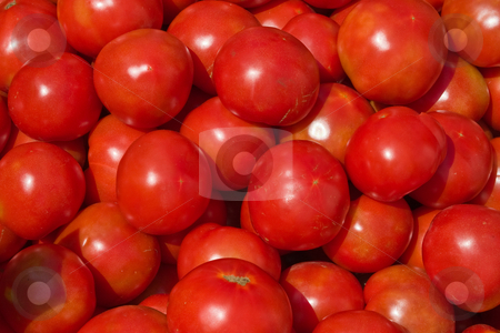 Tomato stock photo, Food series: background of red ripe tomato by Gennady Kravetsky