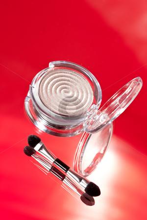 Make-up stock photo, Fashion series:  modern female make up accessories by Gennady Kravetsky
