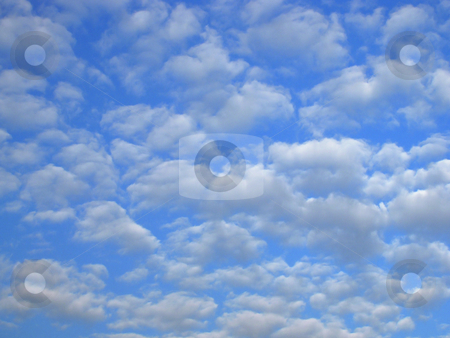 Set of clouds stock photo, Set of clouds by Andrey Ivanov