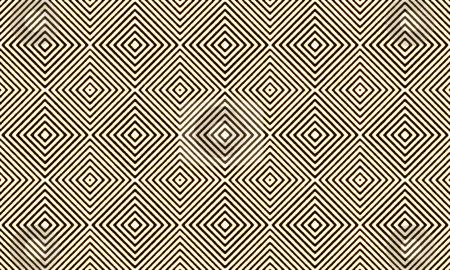 Hypnotic grungy pattern stock photo, Hypnotic grungy pattern of seamless squares on black background by Milos Pavlovsky
