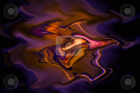 Kalaidescope Swirl stock photo, A kalaidescope of colour and patterns and swirls on dark background by Leah-Anne Thompson