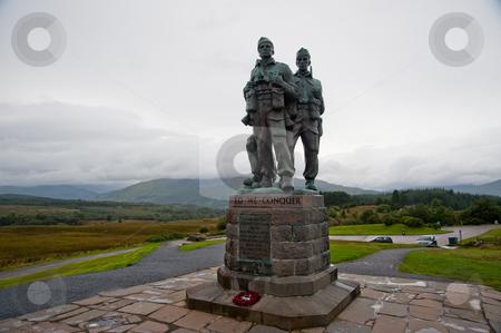 Commandos memorial stock photo, Memorial to the WW2 Commandos by Jaime Pharr