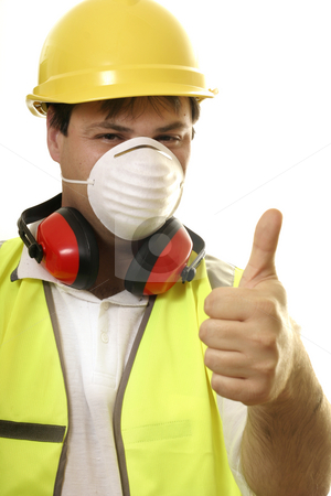 Fix it Solutions stock photo, Man with the thumbs up
